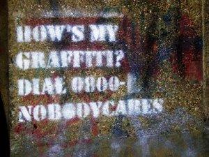 How's my graffiti?
