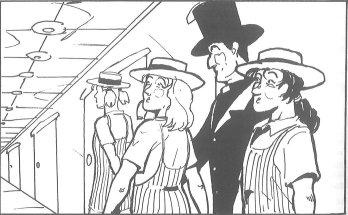 Kirkman's schoolgirls arrive at Hilbert's hotel