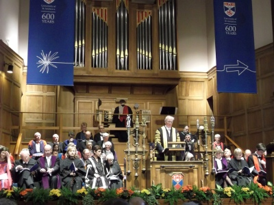 Graduation Ceremony, St Andrews