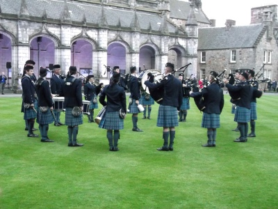 St Andrews pipers