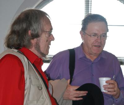 With Chris Godsil