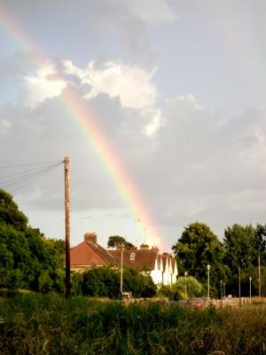 Rainbow over Wolvercote