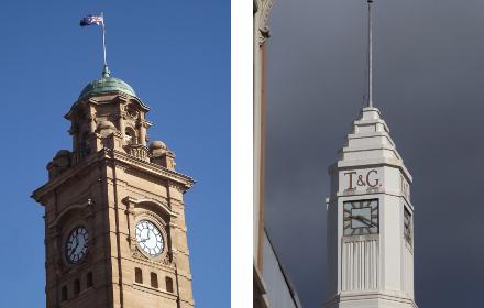Hobart clocks