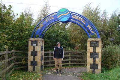 Start of Fife Coastal Path at Kincardine